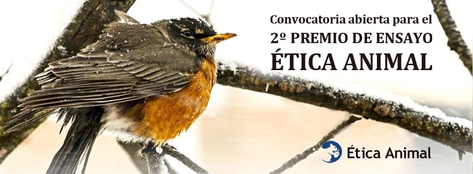 2º Premio de Ensayo Ética Animal