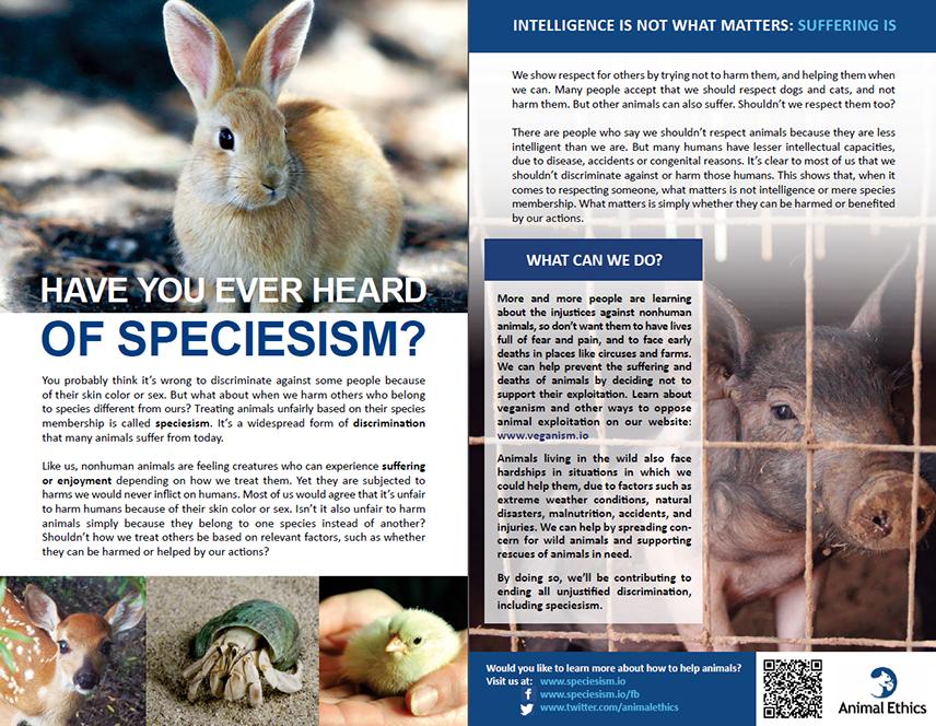 leaflet-speciesism